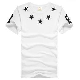 Wholesale Hip Stars - brand Casual Skateboard hba 88 star men T-Shirts europe Hip Hop swag t shirts men harajuku rock short sleeves Tops & Tees