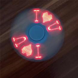 LED Fidget Spinner Finger Plastique EDC Spinner à la main pour l'autisme et le TDAH Focus Focus Anxiété Stress Toys avec Flash 4 Word ? partir de fabricateur