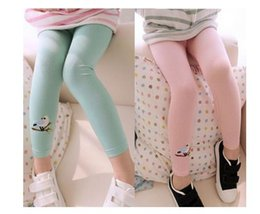 Wholesale Black Tights 4t - Toddler Kids Girls Baby Cotton Pants Bird Pattern Stretch Warm Leggings Trousers