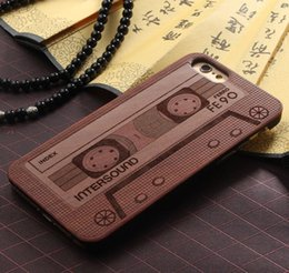 Wholesale Cover Overlay - Slim Luxury Wooden Overlay Plastic Case for Apple iPhone 7,Handmade Hybrid Natural Wood Bamboo Hard PC Back Cover for Iphone 7 Plus 6S 5SE