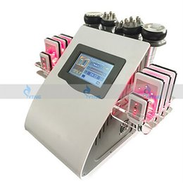 Wholesale Tripolar Cavitation Machine - 40K cavitation cellulite removal Lipo Laser instrument vacuum tripolar bipolar rf led fast fat burning machine