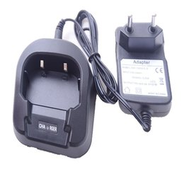 Wholesale Baofeng Charger - Wholesale- Baofeng Portable Radio Genuine Home charger with EU or US Adapter For Baofeng UV-82 UV82 Accessories