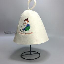 2019 circunferencia del sombrero Venta al por mayor- nuevo gorro de baño Gorro de lana de baño, gorro de ducha de sauna Spa hat head circumference size 70cm rebajas circunferencia del sombrero