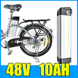 Wholesale Electric Bicycle Free Shipping - 48V 10AH Lithium Battery , Aluminum alloy Battery Pack , 54.6V Electric bicycle Scooter E-bike Free Shipping
