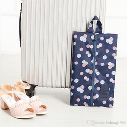 Wholesale Pouch Bag For Shoes - Travel Bag Foldable For Shoes Sundries Women Makeup Pouch Multi Function Portable Water Proof Storage Box Zipper Dustproof 3 8qn J R