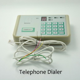 Wholesale Fix Telephone - 1 PCS) Tiger 911 Auto telephone Dialer Alarm system accessories Calling Transfer Tool Fixed Terminal
