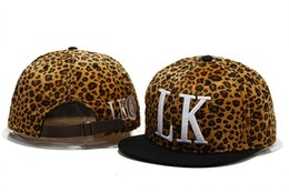 Wholesale Pink Gold Value - Fashionable Leather And Leopard Hats Last Kings Snapback Caps Lk In Red Black Hat Baseball Hats Value To Buy Best Quality