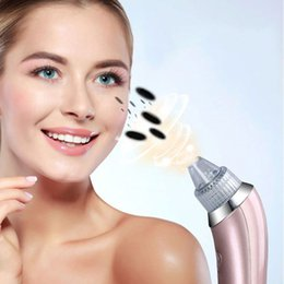 Wholesale Nose Pore Suction - blackhead remover tool Electric Pore Cleaner Acne Pimple Nose Blackhead Suction Remover Beauty Machine Electric Facial Pore Cleanser Skin