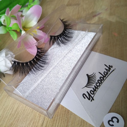 Wholesale D Brand - Handmade False Eyelashes 3D mink eyelash makeup 3D false eyelash extension 3D eye lash brand false eyelash