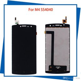 Wholesale Lcd Panel 15 - For M4 SS4040 S4040 4040 DJN 15-22251-44501 100% Tested LCD Display Touch Screen Black Color Mobile Phone LCDs