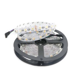 Wholesale Led Strip 24v Rgbw - 5M SMD 5050 RGBW 4 Colors in 1 LED DC24V RGB+ White RGB+Warm White Non-Waterproof Led Strip