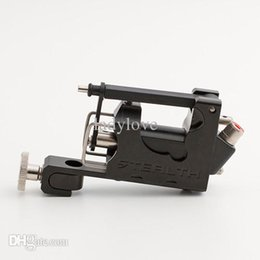 Wholesale Stealth Rotary Tattoo Machines Kits - Wholesale-STEALTH Generation 2.0 SET Aluminum Rotary Tattoo Machine Liner Shader Supply Ink Black tattoo gun Free Shipping