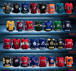 Wholesale Factory Outlet ALL Teams Hockey Jerseys Pre order New Look New AD Brand New Material New Around Of Ice Hockey ADIZERO Jerseys