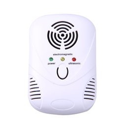 Wholesale Cockroach Repellents Electronic - 110-250V 50-60Hz 6W Electronic Ultrasonic Mouse Killer Mouse Cockroach Trap Mosquito Repellent