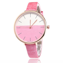 Wholesale Diamond Heart Watches - Students fashion ladies watch ultra-thin fashion epidermis belt Leather fashion diamond watch Peach heart digital Quartz watch