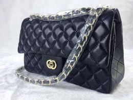 Wholesale White Gold Diamond Cross - Women Shoulder Handbag Chain Genuine Leather Crossbody Messenger Bags Fashion Casual