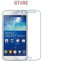 Wholesale Grand Duos Screen Protector - For Samsung Galaxy Grand 2 Duos G7102 G7106 7108 719 Tempered Glass phone film Phone Protective Phone film touch screen protector 9H