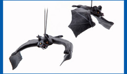 Wholesale Animal Bat Toys - Wholesale-Halloween trick toys simulation toys entire air defense simulation animals really bats Free Shipping