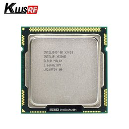 Wholesale Cpu Intel Xeon Server - Intel Xeon X3450 Quad Core 2.66GHz 8M 2.5GTs SLBLD Socket LGA1156 CPU Processor