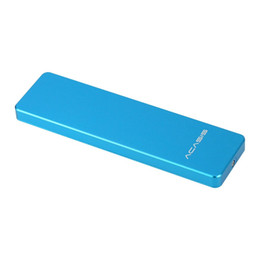 Wholesale Hard Solid Disk Ssd - Wholesale- 17802TW Acasis FA-2423 M2   NGFF to USB3.0 M.2 SSD Enclosure Solid State Drive Hard Disk Adapter External HDD for 2242 2260 2280