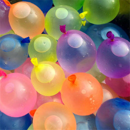 Wholesale Filled Water Balloons - 1pc=111balloons Outdoor Water Balloon Amazing Magic Water Balloons Bombs Toys for Children Kids Summer Beach Water Sprinking Ballons Games