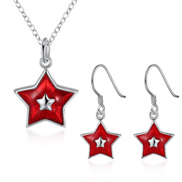 Wholesale Jewelry Settings Use - Christmas set 13 style Earrings & Necklace set for women silver plated popular jewelry set use at Christmas