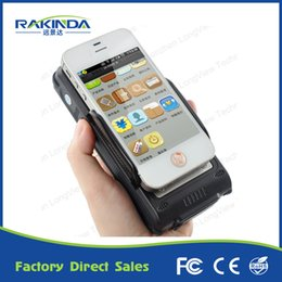 Wholesale Rfid Reader Bluetooth - Android Bluetooth HF RFID Reader 1D 2D Barcode Scanner Clip For Smartphone and Tablet