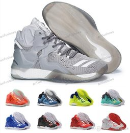 Wholesale Silk Roses Top - New D Rose 7 VII Boost Men's Basketball Shoes For Top Quality Cheap Sale Derrick Sports 7s Training Rose Sneakers Size 40-46 Free Shipp
