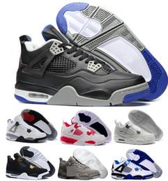 Wholesale Buy Women - New 4 Basketball Shoes Sports Sneakers Buy 2017 Men Women 4s Man Zapatillas Authentic Original Real Replicas