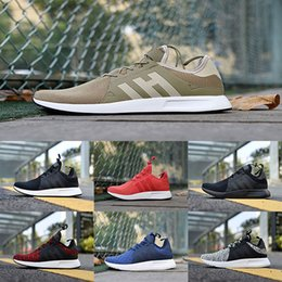 Wholesale Rugby Popular - Popular NMD X_PLR Running Shoes Ultra boost Triple Black white red grey blue Fashion men NMDS X PLR Sports Shoes Eur 36-45 wholesale