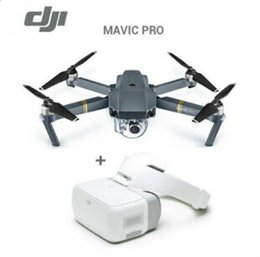 camion caméra 4k Promotion Nouveau!! DJI Mavic Pro Goggles Fly More Combo Pocket Selfie Drone WiFi FPV Avec 4K HD Camera Aircraft SUAV Professional Aerial Photography