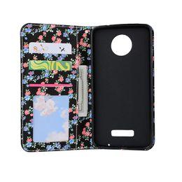 Wholesale E5 Case - For Sony Xperia Z3 Z4 Z5 Mini Compact E5 C6 Motorola Moto G4 X4 Play Plus Flip Folio Kickstand PU Leather Wallet Case Card Slots Back Cover
