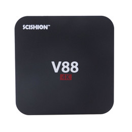 Wholesale Quad Movies - V88 Android TV Box Rockchip RK3229 1GB 8GB Smart Boxes 4K Quad core 16.1version Full Loaded support 3D Free Movies Online PC DHL 0803093