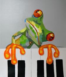 Enmarcado, Lotes al por mayor, R396 # Pintura al óleo moderna pintada a mano del arte abstracto