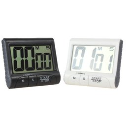 Wholesale Large Lcd Screens - Magnetic Large LCD Screen Digital Kitchen Timer Alarm Count Up   Down LIF_501