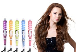 Wholesale Perfect Curls Pro - Magic Pro Perfect Hair Curlers Electric Curl Ceramic Spiral Curling Iron Wand Salon Hair Styling Tools Styler