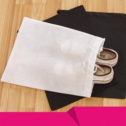 Wholesale Types Flat Shoes - One-time Travel Shoes Package High Quality Thickening Non-woven Fabric Shoe Storage Bag Can Store A Variety Of Shoes IC807