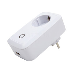 Wholesale Power Plug Timer - Wireless Wifi Socket App Remote Control Smart Wifi Power Plug Timer Switch Wall Plug Home Appliance Automation EU US Style