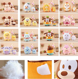 Wholesale Pluto Plush - Cartoon 15 Styels Ufufy Dumbo Stitch Elephant Dumbo Pluto Goofy Mickey Plush Toys Dolls Cute Soft Toys for Children Gift 13-30 CM