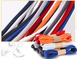 Wholesale Red Flat Shoelaces - shoe laces white color and black and red for adult shoes materials suitable for casual lace up sneakers
