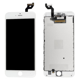 Wholesale install assembly - For iPhone 6s LCD Display Touch Screen With Digitizer Assembly Black Or White AAA quality with or without parts install 100pcs lot