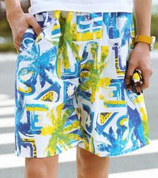 Wholesale Mens Nylon Swim Shorts - wholesale Mens Swimwear Male Swimming Beach Shorts surf board shorts Mans Swimsuit 40 colors Free DHL D522