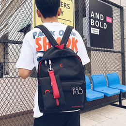 Wholesale Travel Backpack Laptop Compartment - 2017 Fashion Brand Men's Backpack School Bags Laptop Backpack For Man Black Waterproof Travel Backpack