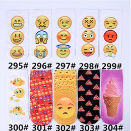 Wholesale Cartoon Faces Socks - Wholesale- 2016 new Harajuku cat animal 3D cartoon faces Socks unisex
