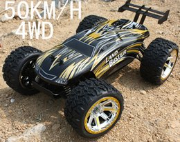 Wholesale Car Rubbers - Wholesale- High Quality Rc Car 50Km H 2.4Gh 4WD Off-Road Buggy Rc Car Remote Control Toys For Children