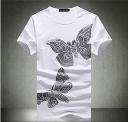 Wholesale Desinger Clothes - Brand Clothing T Shirt 2017 NEW T-SHIRT Short Fit Slim Casual Mens Casual Wear desinger men T-shirts Cotton Top quality M-3XL