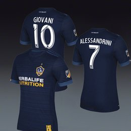 Wholesale Men S Red Galaxy Shirt - have stock Los Angeles Galaxy JERSEYs AWAY HOME shirt 2018 2017 Free shipping Rugby 16 17
