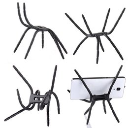 Wholesale Spider Mobile - Universal Flexible Spider Mobile Phone Holder Multifunction Lazy bracket Spider Stand Adjustable Twist Mount For iphone 7 Samsung S7 HTC LG