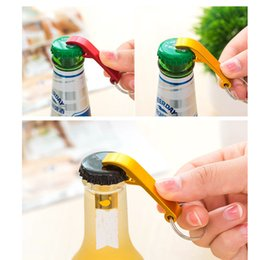 Wholesale New Px - Creative Stainless Steel Bottle Openers New Portable Keychain Ring Alloy Beer Wine Can Bar Club Waiter Kitchen Tools PX-B39