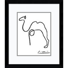 Wholesale Antique Canvas - Auction art antiques paintings craft reproduction with an extraordinary retentive memory simple line drawing the camel by Pablo Picasso